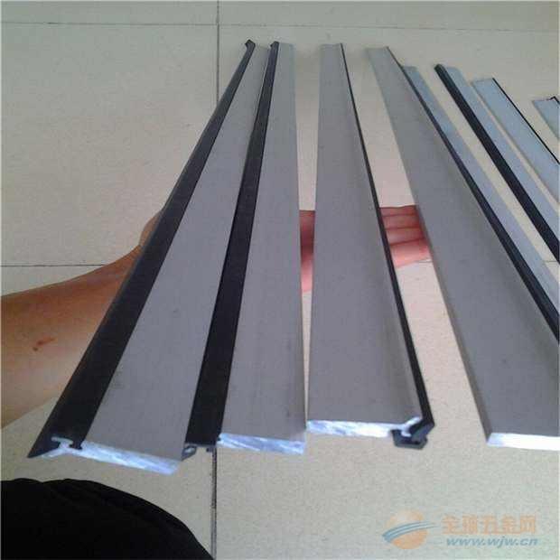 厂家供应七台河中德牌导轨刮屑板 铝合金刮屑片 自产自销