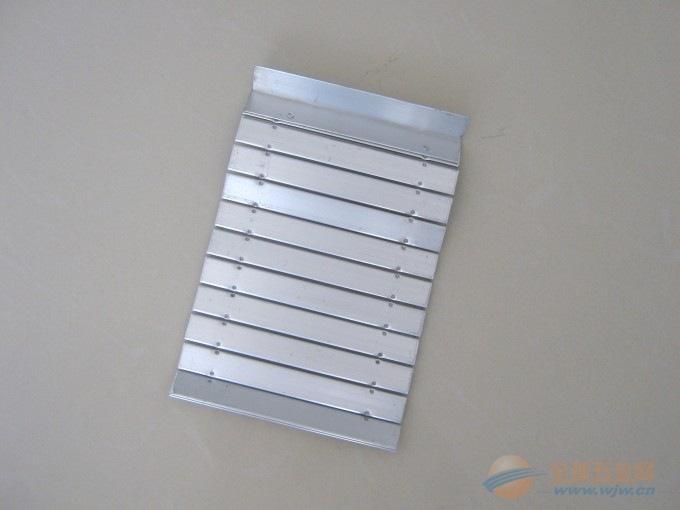 唐山机床 热销中德牌铝型材防护帘 防护罩批发定做