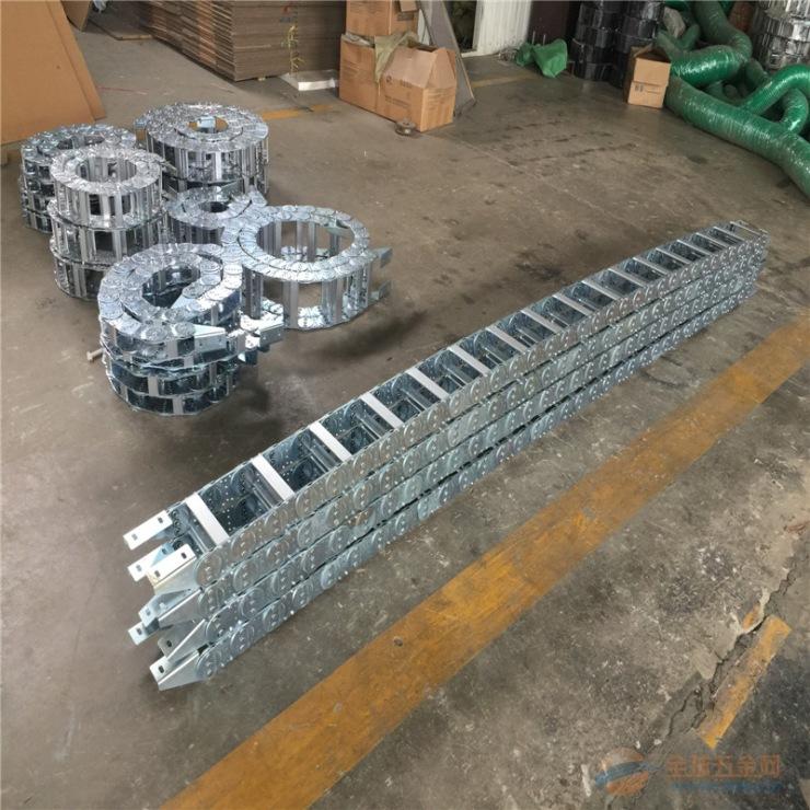 尺寸定做 运河区钢制钢铝拖链 优等产品