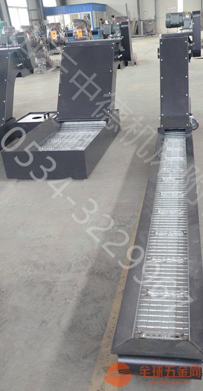 菏泽厂家定制铝屑输送机,山东中德供应链板式排屑机