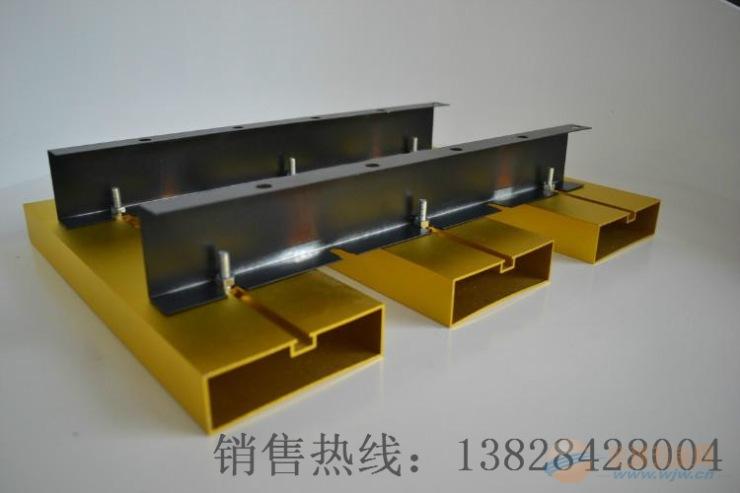多色吊顶40*130特殊造型方管厂家直销