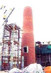 伊金霍洛旗锅炉烟囱平台安装信誉施工单位