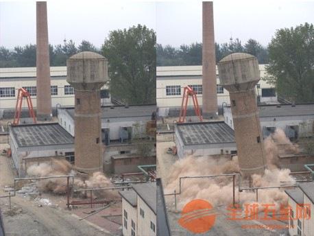 黄山烟囱拆除加高老品牌信誉施工公司