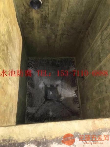 广陵区环氧树脂防腐公司水池