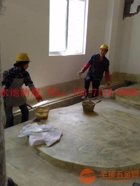 安吉县玻璃钢防腐公司水池