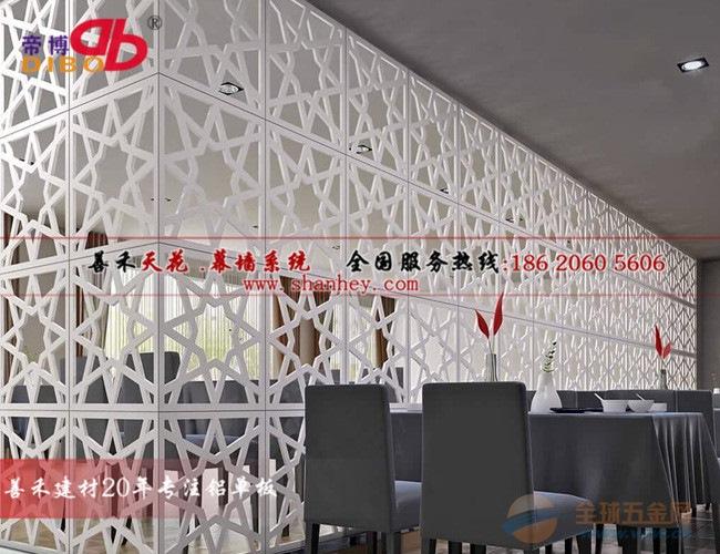 【福建外墙雕花铝单板装饰材料】产品工程案例图