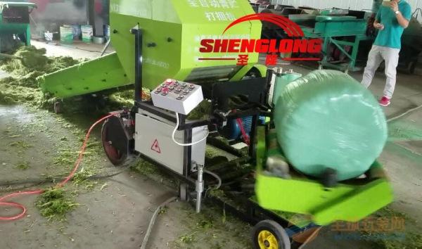 青饲料裹包机 玉米秸秆饲料裹包机 全自动裹包机价格