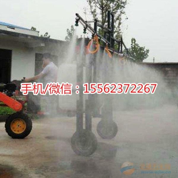芜湖果园自走式喷雾器工作视频