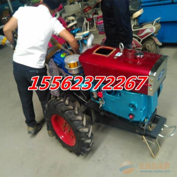 果园手扶拖拉机 大棚果园旋耕除草机 简单易操作