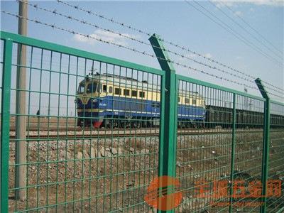 """铁路护栏网产品 更多 铁路护栏网  铁路防护栅栏又称为""""边框式防攀"""