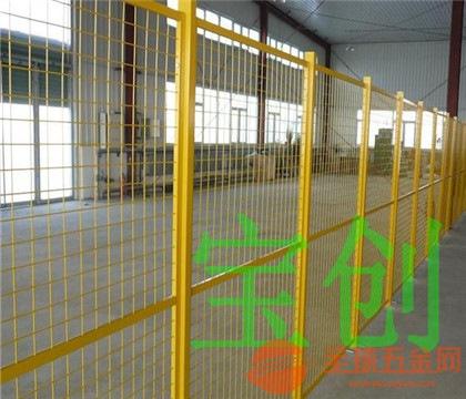 车间护栏网产品厂价直销 车间护栏网产品特性 车间护栏