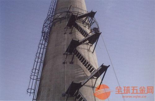 双鸭山烟囱安装井字形爬梯平台公司