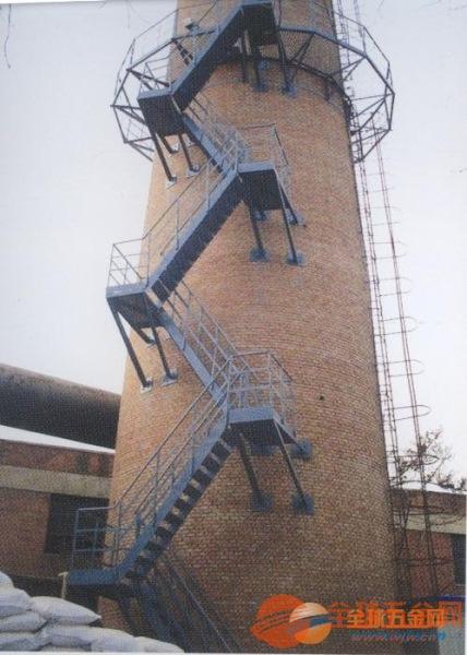 烟囱安装井字形爬梯钢平台