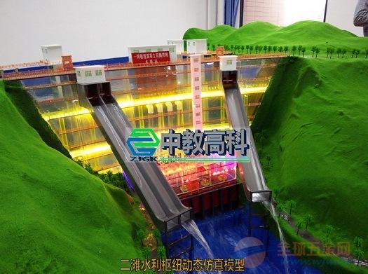 中科模型 高水头水利枢纽模型,水工模型