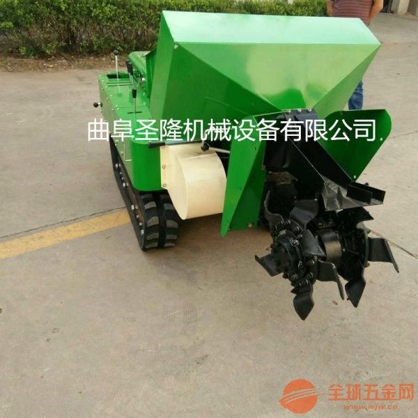 自走式除草机 自动施肥回填一体机