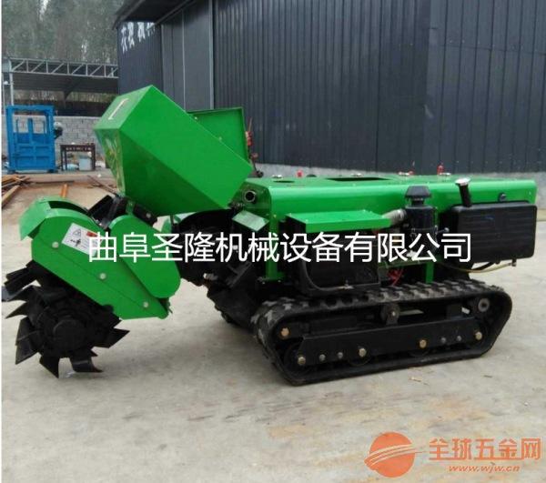 柴油机田园管理机 施肥回填一体机