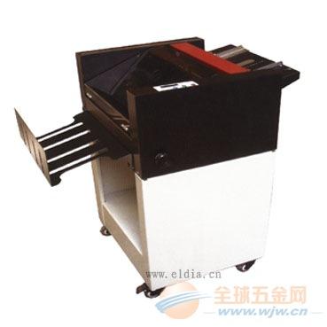 河源自动折纸装订机/湛江吸风折页机