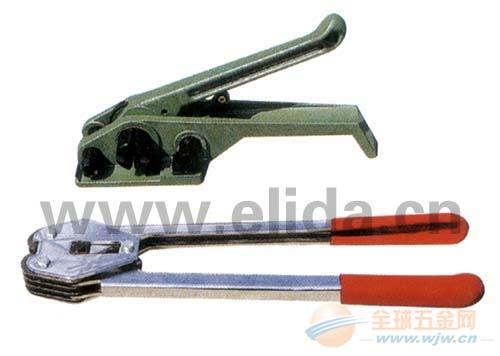 依利达圆面钢带打包机/气动钢带打包机/小组合铁带捆扎机