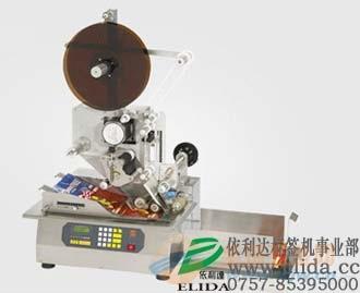 依利达保丽袋贴标机/广州自动贴标机