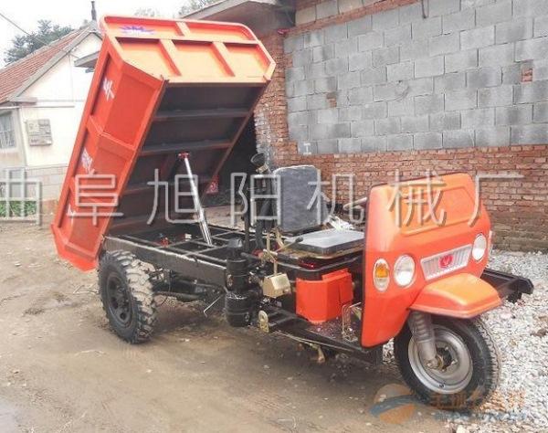 直销混泥土自卸柴油三轮车 机动拉粮车