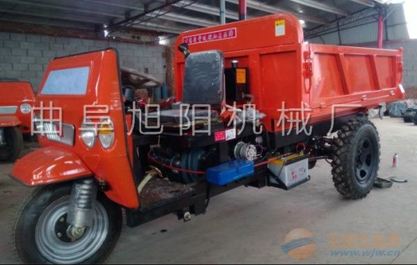 高配置工程建筑液压自卸柴油三轮车