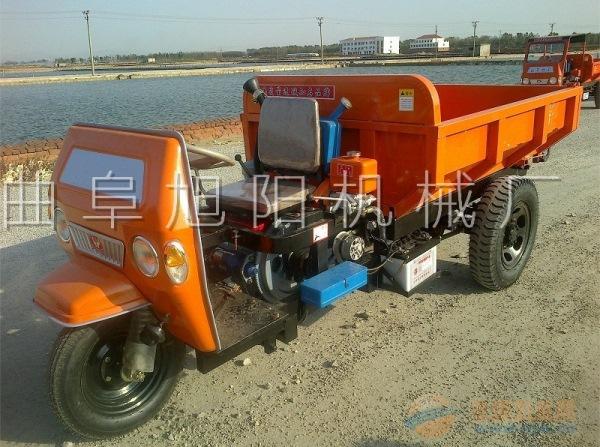 电启动矿用三轮车柴油三轮运输车农用拉梁车矿用拉料车25马力