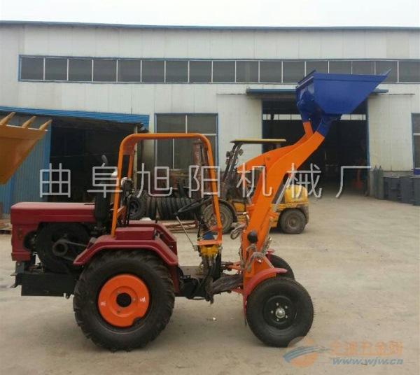 推荐旭阳小型农用轮式小铲车 小型装载机液压单缸装载机