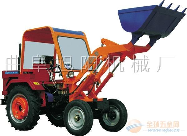 厂家直销旭阳全新液压轮式小铲车多功能小型装载机