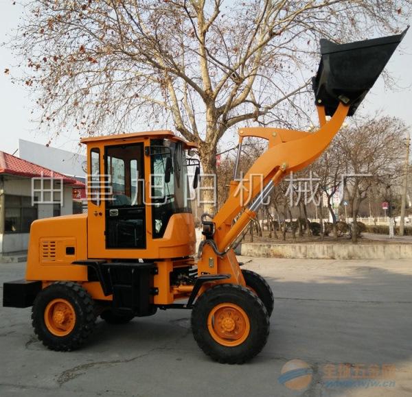 直销910型轮式装载机工地上料装载机农用抓草抓木机