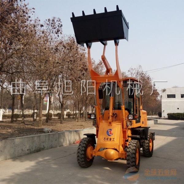 柴油液压装载机 轮式后驱装载机 小型铲车多功能小铲车