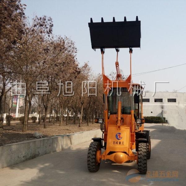 推荐旭阳工程建筑机械 ZL10型小型轮式装载机 农用抓草机