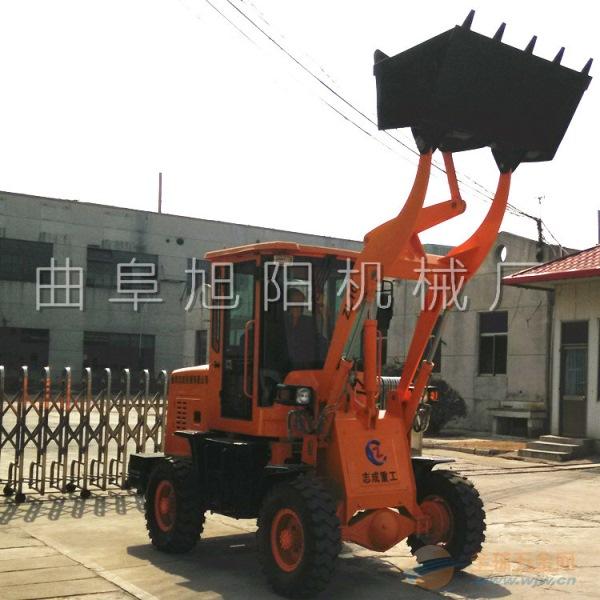 志成直销轮式工地铲车柴油多功能装载机工程小型装载机