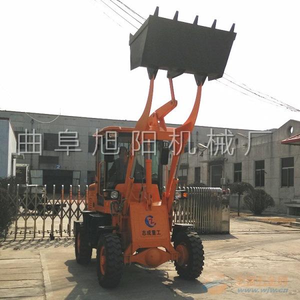 旭阳常年热销910轮式装载机工程运输车小型铲土车