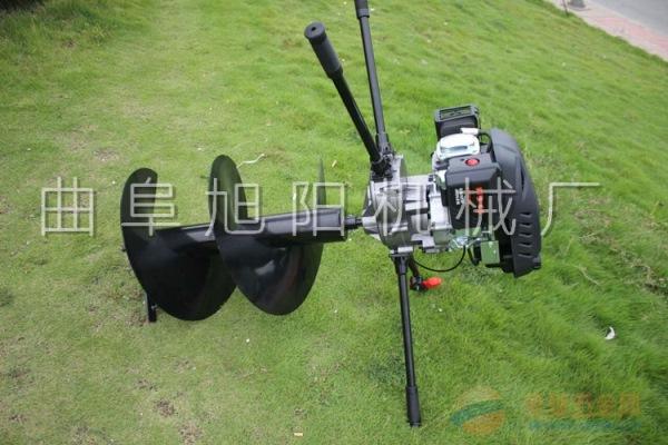 推荐8马力挖坑机电线杆打眼机汽油钻洞机树木种植挖窝机