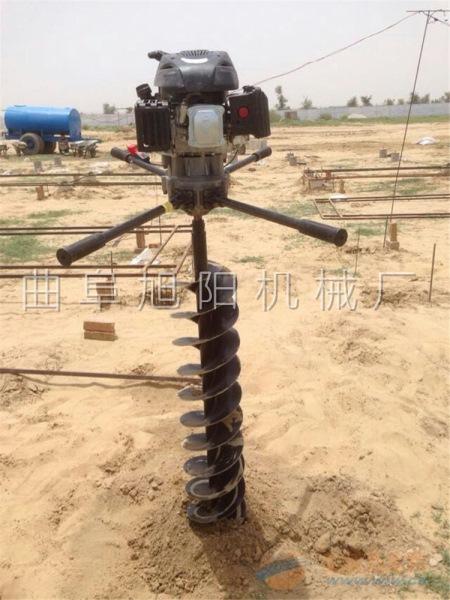 8马力电线杆打眼机树木种植挖窝机汽油钻洞机挖窝机挖坑机