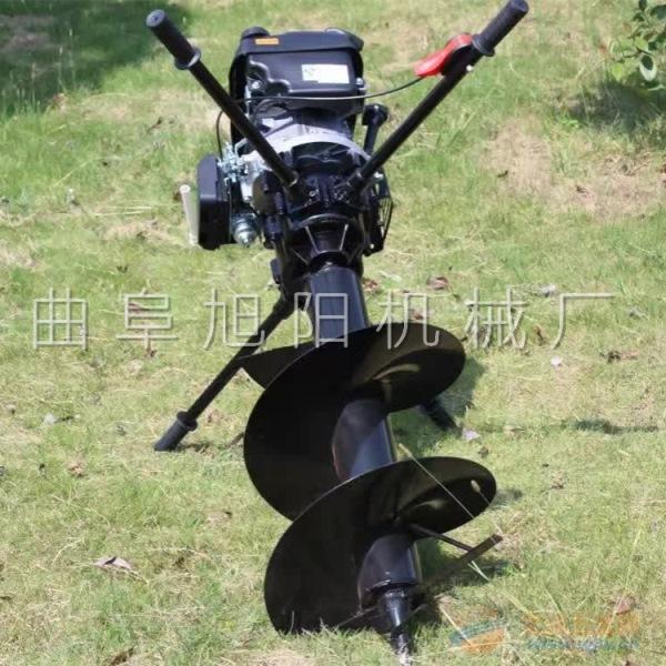 汽油挖坑机 8马力挖坑机
