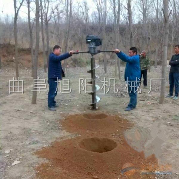 8马力树木种植挖坑机电信杆打眼机汽油钻洞挖窝机钻坑机