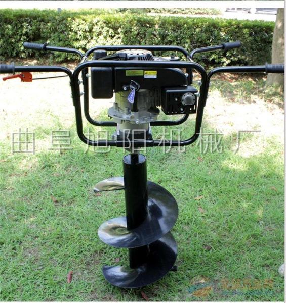 推荐7马力 树木种植挖坑机电线杆打眼机汽油钻洞机