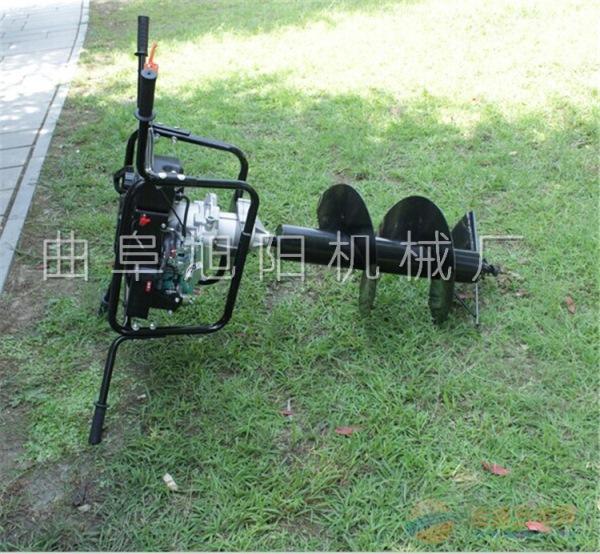 直销7马力大型挖坑机 汽油钻洞机 树木中指挖窝机