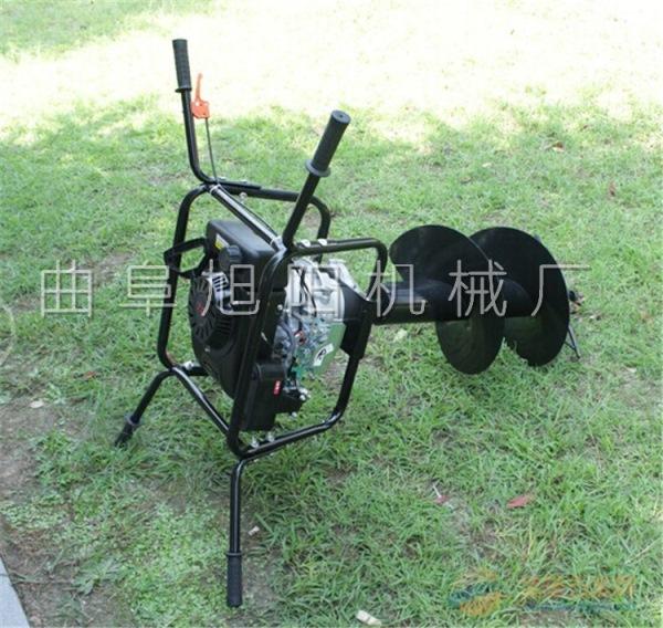 果树施肥种植打坑机葡萄园防风架打孔机电力交通埋设桩柱挖坑机