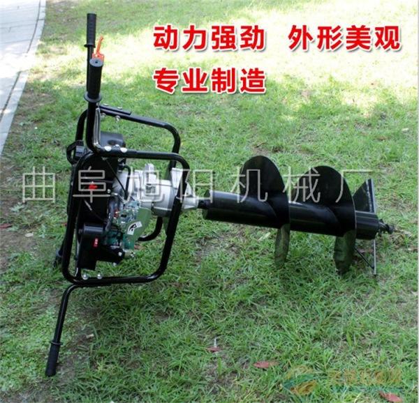 直销7马力大型挖坑机 电线杆安放挖窝机 汽油钻洞机 树木种植挖坑机