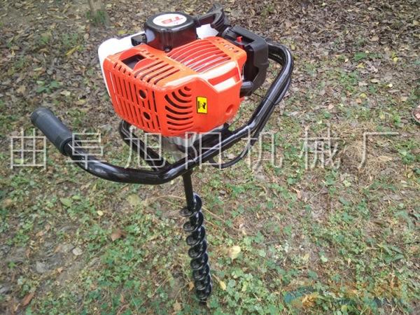 2点3马力树木种植挖坑机电线杆打眼机植树种植汽油钻洞机