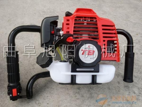 3.2马力树木种植挖坑机电线杆挖窝机汽油钻洞机打坑机