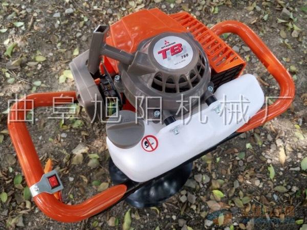 推荐4.2马力树木种植挖坑机电线杆打眼机汽油钻洞机打窝机