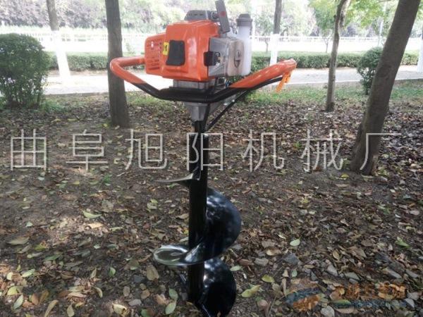 推荐4.2马力汽油树木种植挖坑机电线杆打眼机