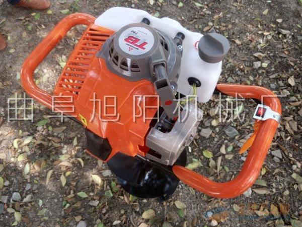 旭阳热销果树种植施肥挖坑机冬季水产养殖通气打孔机