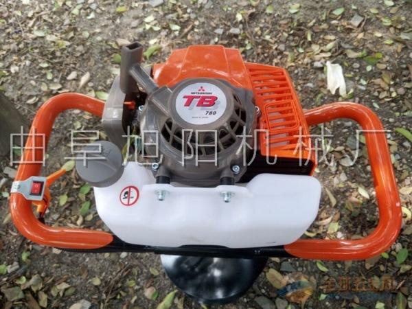 推荐4点2马力树木种植挖坑机打眼机挖坑机挖窝机杀虫机