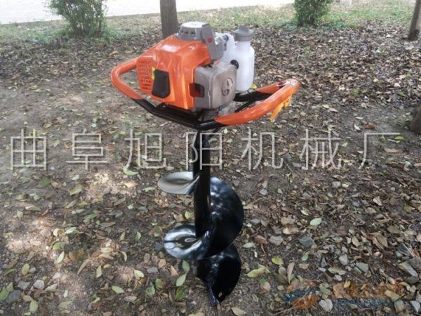 双人/单人4.2马力树木种植挖坑机 汽油钻洞机 电线杆安放挖窝机