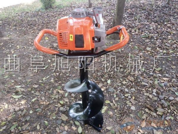 厂家直销3.2马力种树挖坑机手提式整地挖坑打眼机