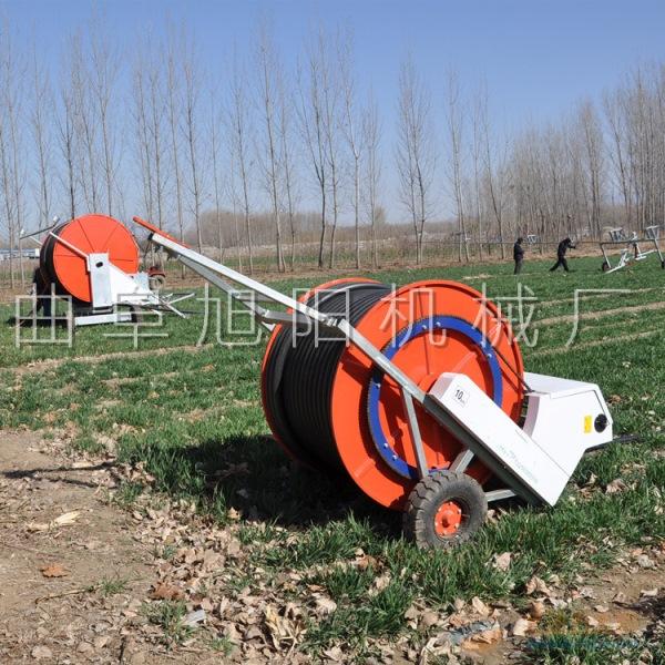 直销50-180大型喷灌机 可移动式卷盘式浇地喷水机